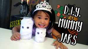 DIY with Ollie - Mummy Jar