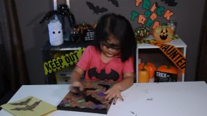 Halloween Bat Painting for Kids and Toddlers