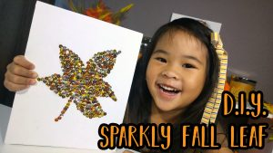 DIY Fall Leaf Art Thumbnail
