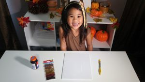 DIY Fall Leaf Art Materials