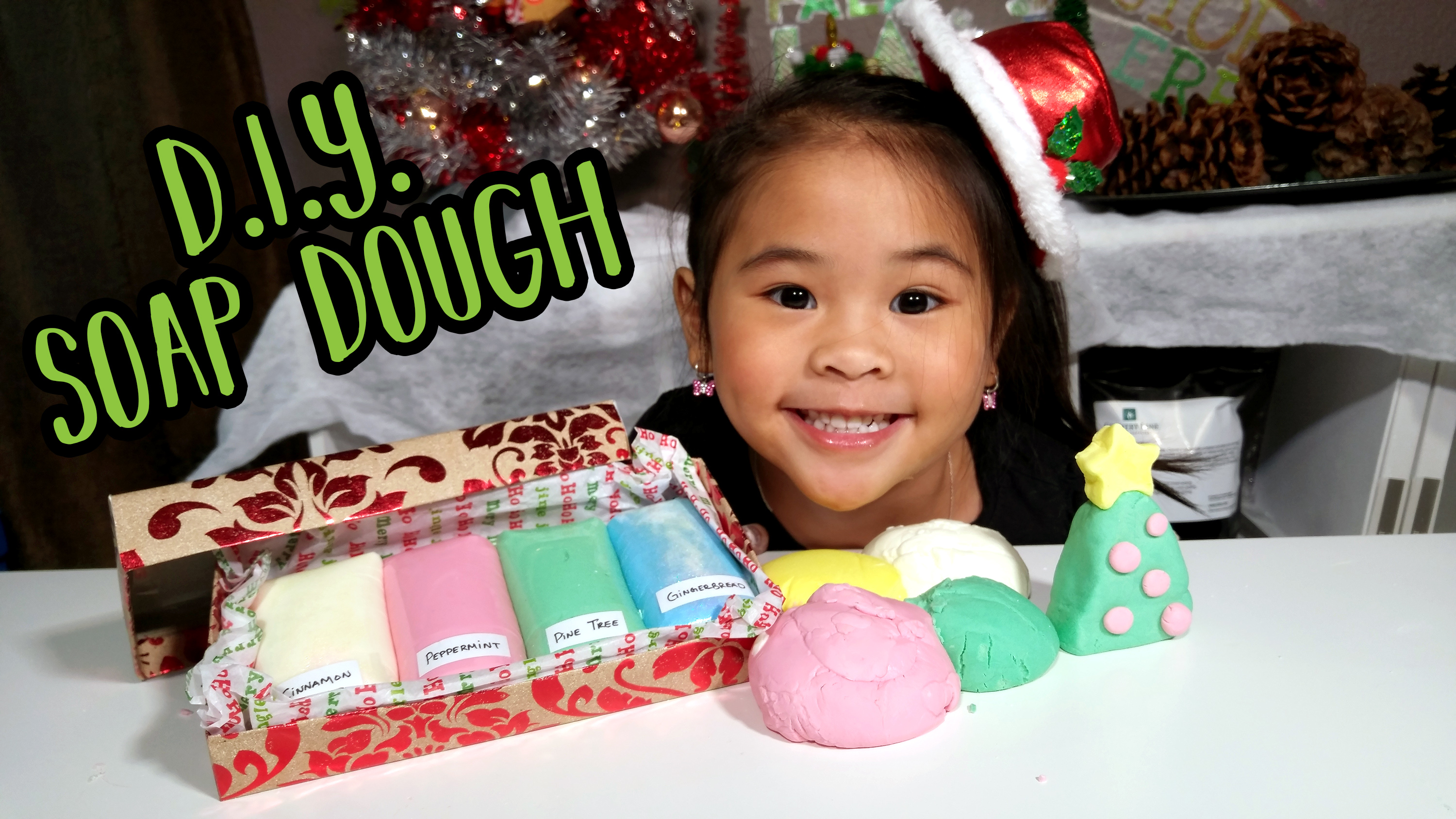 Christmas Gifts Kids Can Make - DIY Soap Dough - DIY Soap Putty