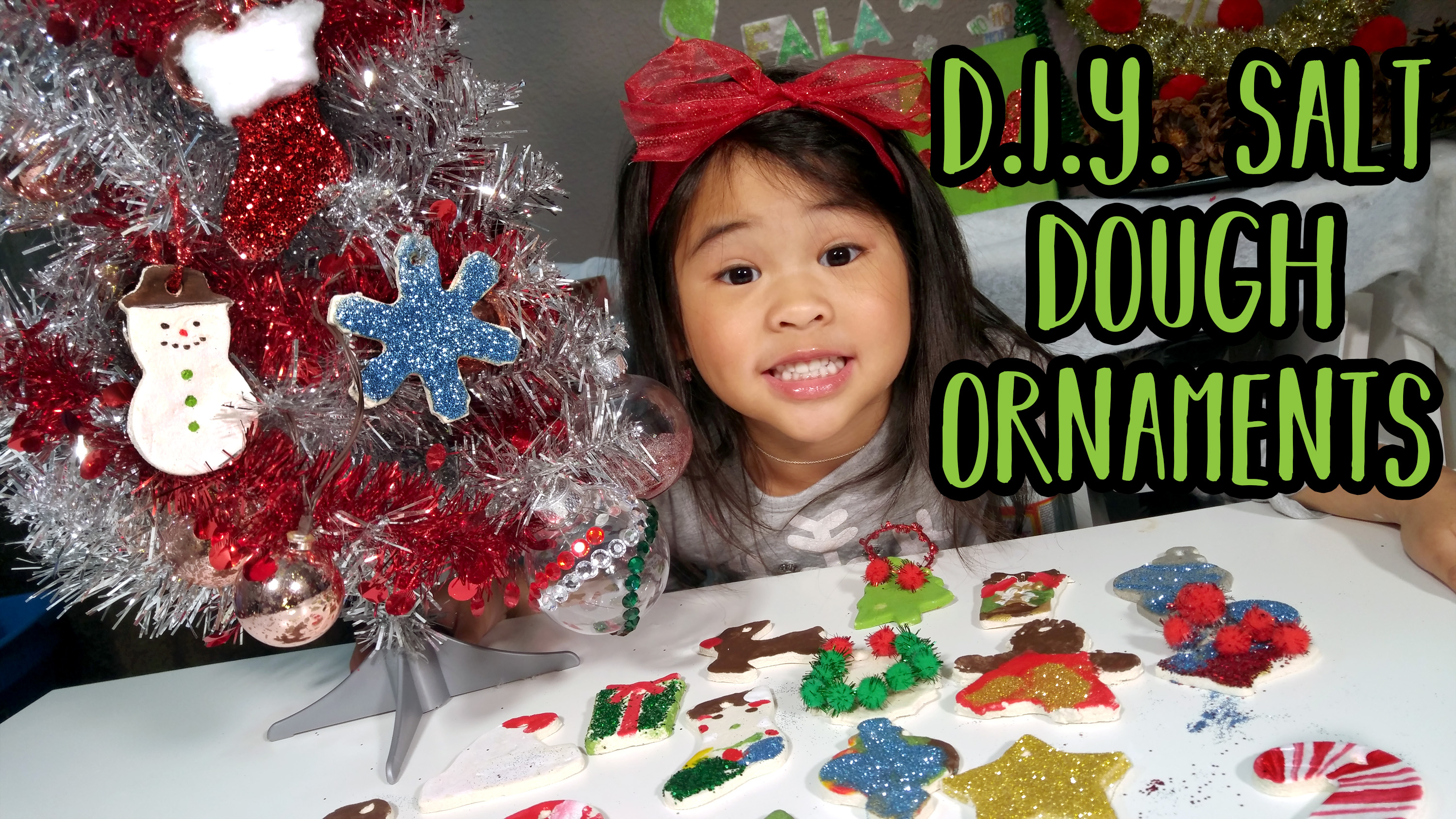Holiday Crafts for Kids by Ollie on DIYwithOllie on YouTube