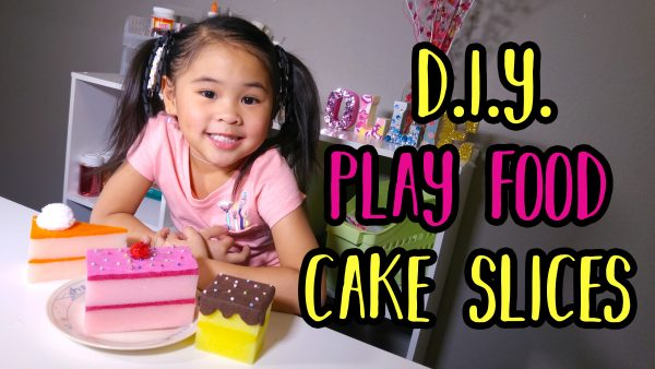 Fake Cake Slice Craft | DIYwithOllie.com