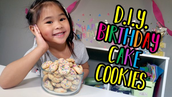 Birthday Cake Cookie Tutorial