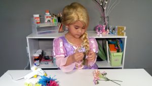 Tangled Movie Craft Tutorial
