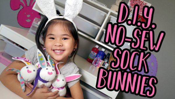 Easter Sock Bunny Tutorial