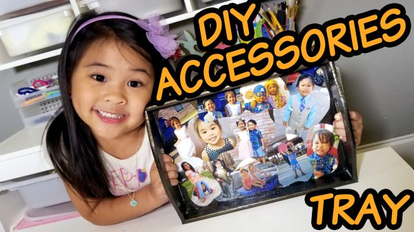 DIY Accessories Organizer Tutorial for Father's Day