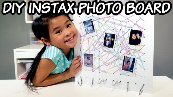 Hanging Instax Picture Display