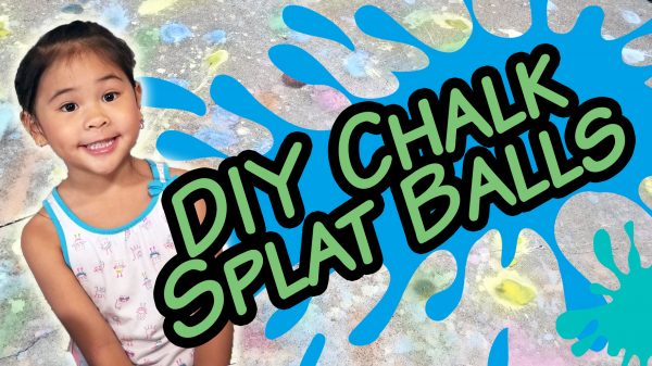 DIY Paint Splatter Balls Tutorial