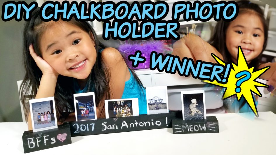 Instax Photo Holder Tutorial