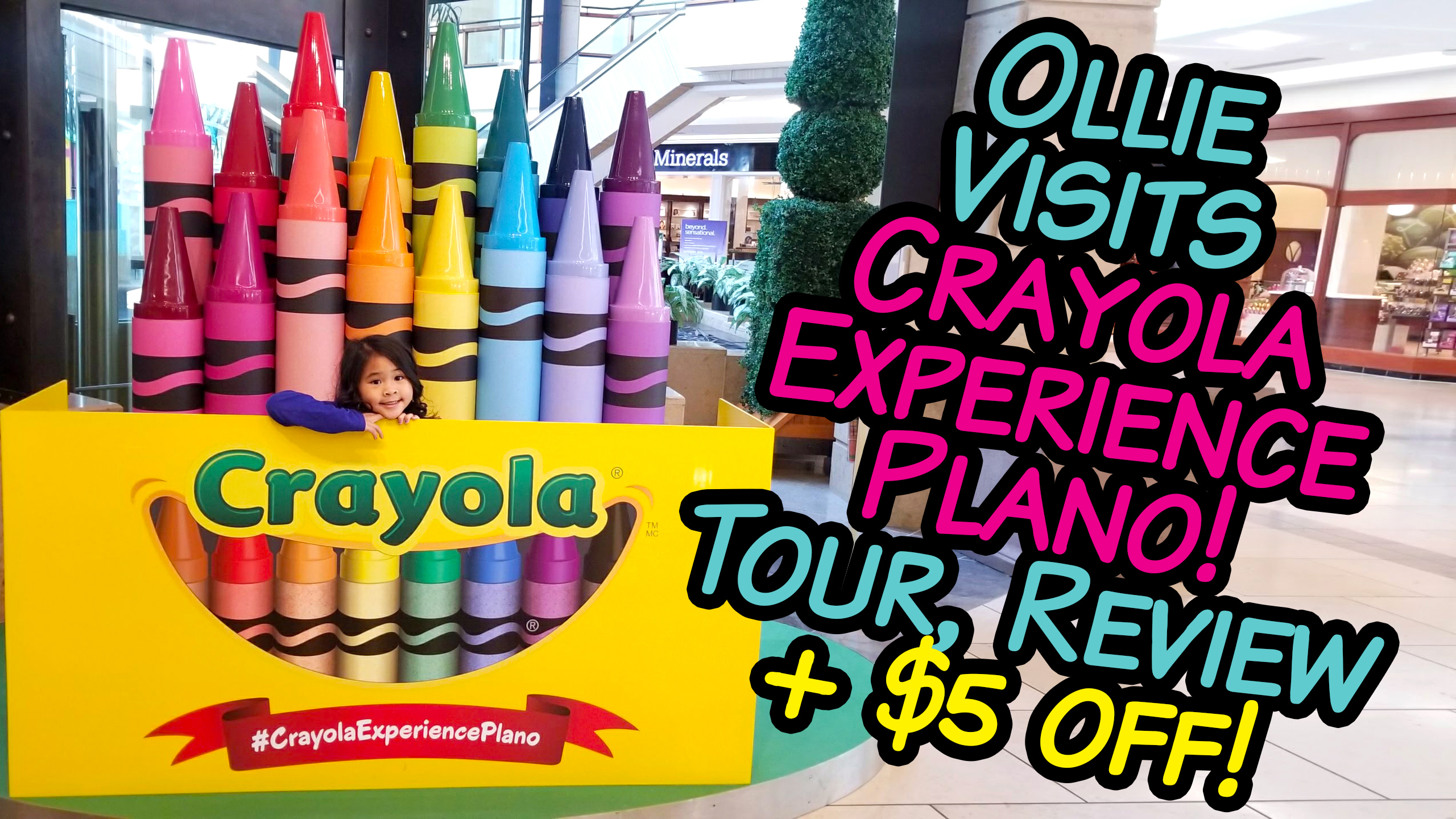 photograph about Crayola Coupons Printable titled $7 Crayola Working experience Coupon Code (all spots), Study