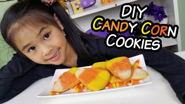 DIY Candy Corn Sugar Cookie Recipe