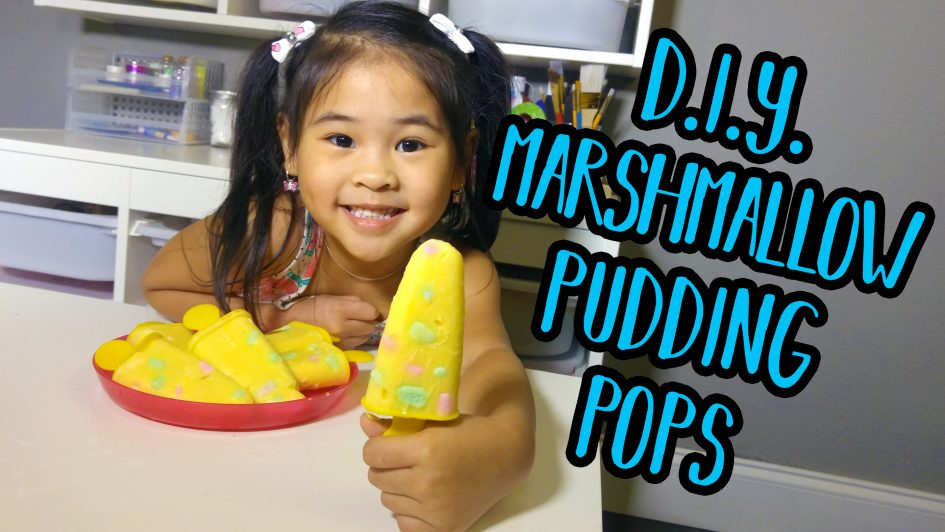 Easy Marshmallow Pudding Popsicle Recipe