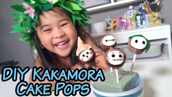 DIY Moana Cake Pop Recipe and Tutorial