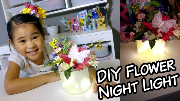 Mother's Day Flower Light Gift Idea