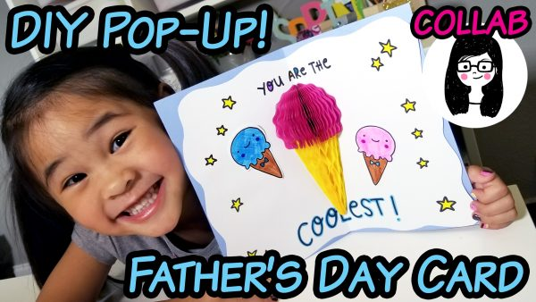 Easy DIY Father's Day Pop Up Card