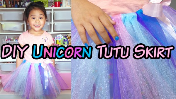 DIY No-Sew Tulle Skirt Tutorial