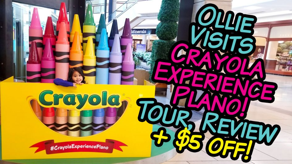 Crayola Experience PlanoTour, Review and Discount!